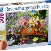 Summer Bouquet 500 Larger Piece Ravensburger Puzzle