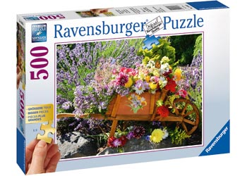 Summer Bouquet 500 Larger Piece Ravensburger Puzzle