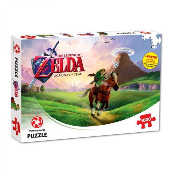 The Legend of Zelda Ocarina of Time 1000 Piece Puzzle