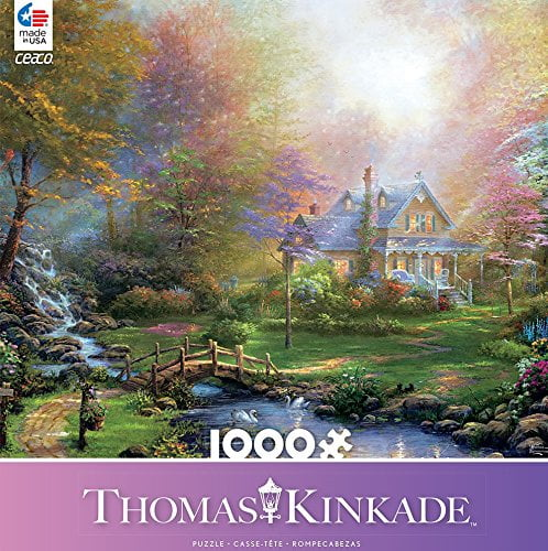 Thomas Kinkade – A Mothers Perfect Day 1000 Piece Ceaco Puzzle
