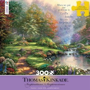 Thomas Kinkade - Inspirations Reflections of Faith 300 Large Piece Puzzle