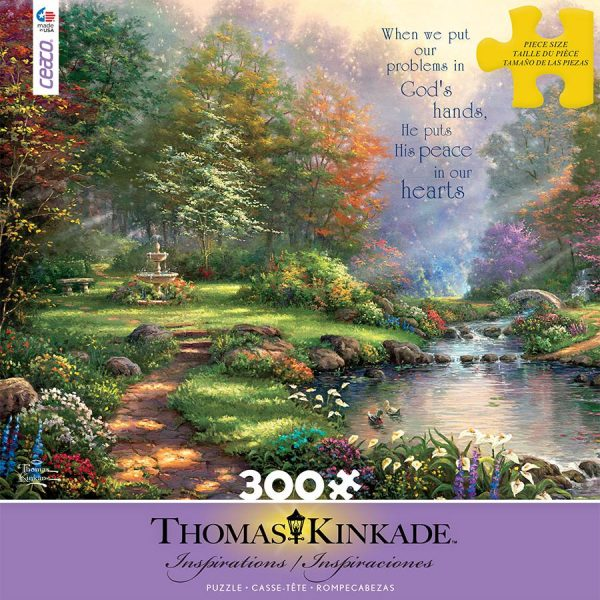 Thomas Kinkade – Inspirations Reflections of Faith 300 Large Piece Puzzle