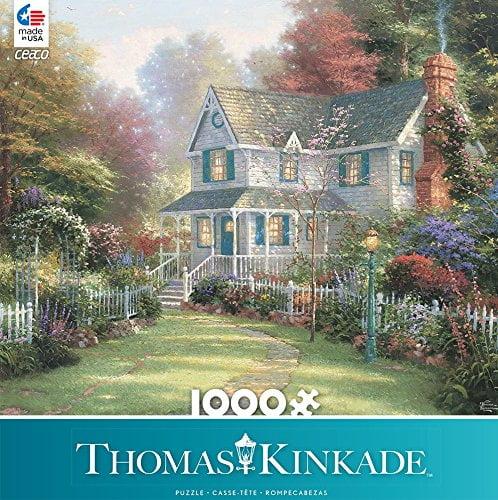 Thomas Kinkade – Victorian Garden II 1000 Piece Ceaco Puzzle