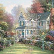 Thomas Kinkade - Victorian Garden II 1000 Piece Ceaco Puzzle