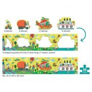 My Very Long Puzzle Transportation 30 Piece - Mudpuppy