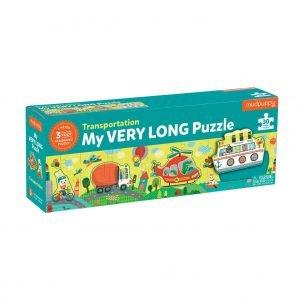 Transportation - My Very Long Puzzle 30 Piece - Mudpuppy