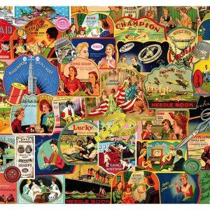 Vintage Advertisements 1000 Piece Piatnik Puzzle