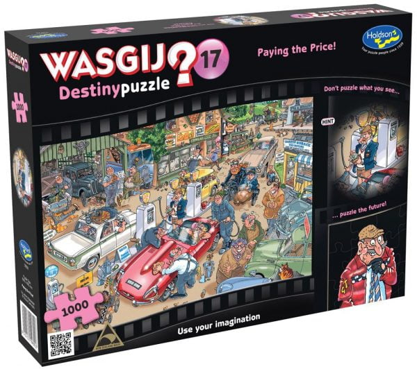 Wasgij Destiny 17 - Paying the Price 1000 Piece Jigsaw Puzzle - Holdson