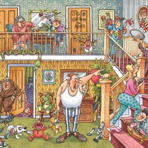 Wasgij Imagine 3 Slumber Party 1000 Piece Puzzle