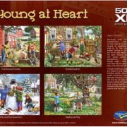 Young at Heart Farmhouse Chores 500 XL Piece Puzzle