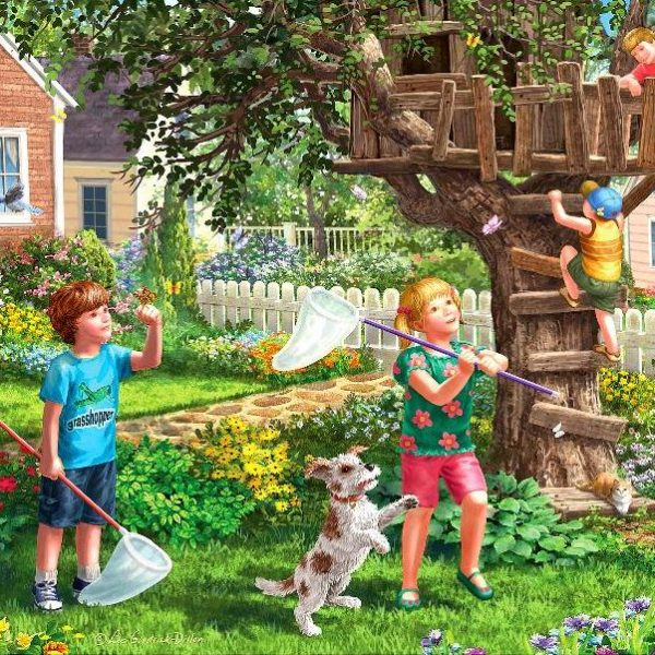 Young at Heart – Treehouse Play 500 XL Piece Puzzle