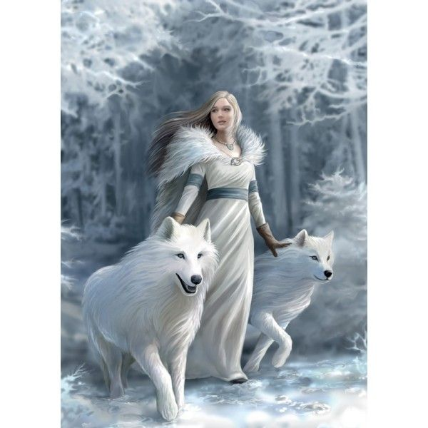 Anne Stokes Guardians Winter Guardians 1000 Piece Puzzle