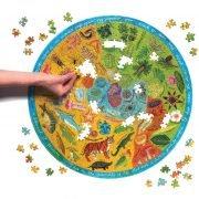 Biodiverstiy 500 Piece Round Puzzle - eeBoo