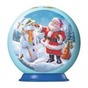3D Christmas Decorations (Set 2) - Santa & Snowman