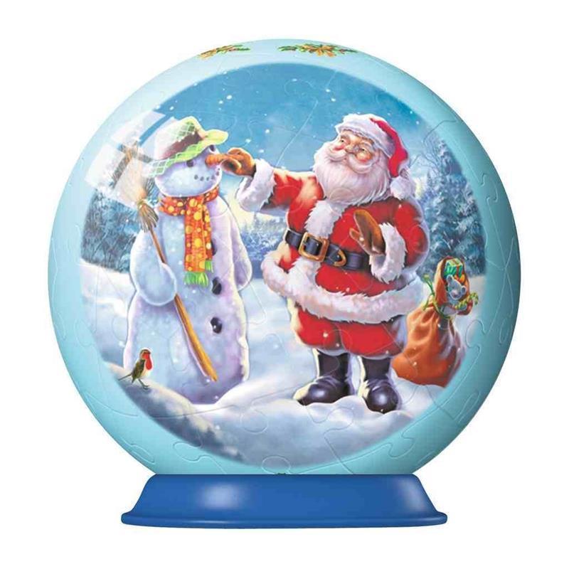 3d christmas decorations set 2 santa snowman - Santa Snowman 2