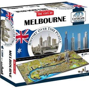 4D Cityscape Melbourne