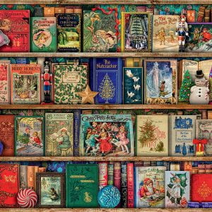 Aimee Stewart - The Christmas Library 1000 Piece Puzzle