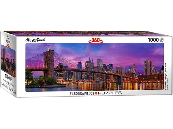 Airpano - Brooklyn Bridge New York 1000 Piece Puzzle