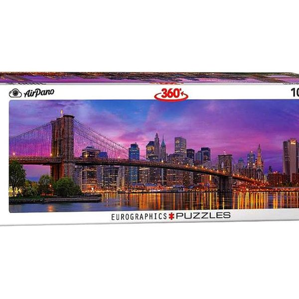 Airpano – Brooklyn Bridge New York 1000 Piece Puzzle
