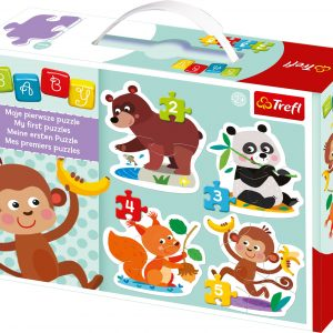 Baby Classic Delights 4-in1 Puzzle Set Trefl