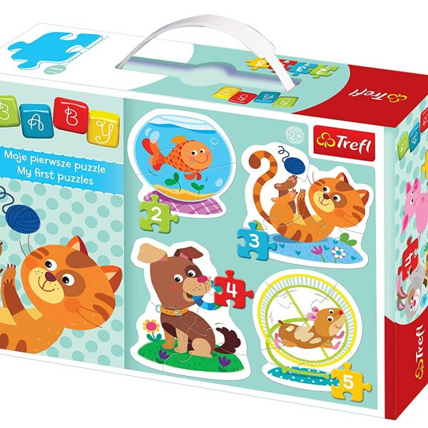 Baby Classic Pets 4-in-1 Puzzle Set Trefl