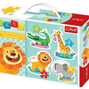 Baby Classic Safari 4-in-1 Puzzle Set