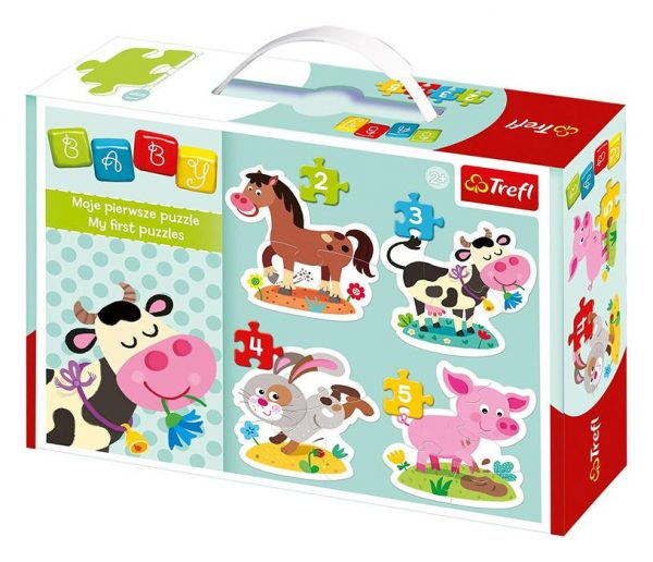 Baby Classic Village 4-in-1 Puzzle Set
