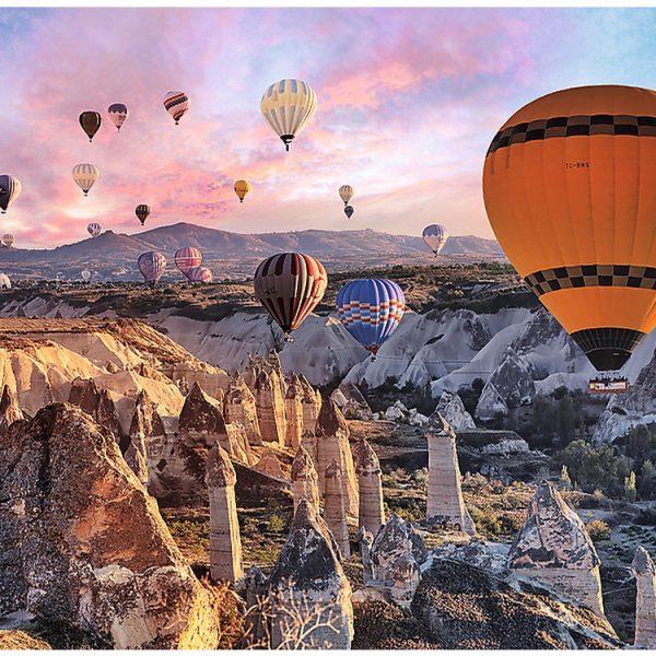 Balloons over Cappadocia 3000 Piece Trefl Puzzle