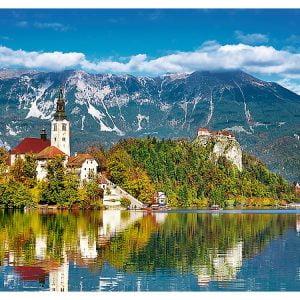 Bled, Slovenia 500 Piece Puzzle - Trefl