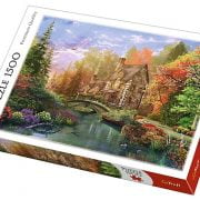 Cottage by the Lake 1500 Piece Trefl Puzzle