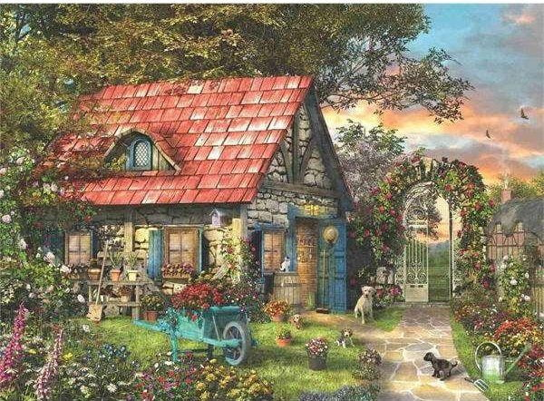 Country Shed 1000 Piece Anatolian Puzzle