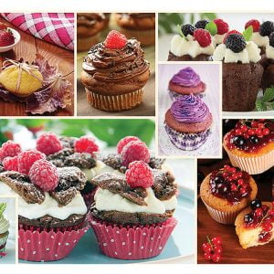 Cuisine Decor Muffins 1000 Piece Puzzle