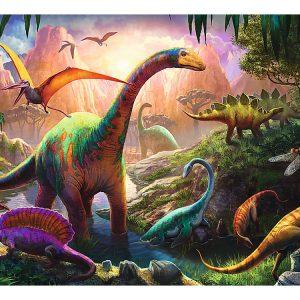 Dinosaur Land 100 Piece Trefl Puzzle