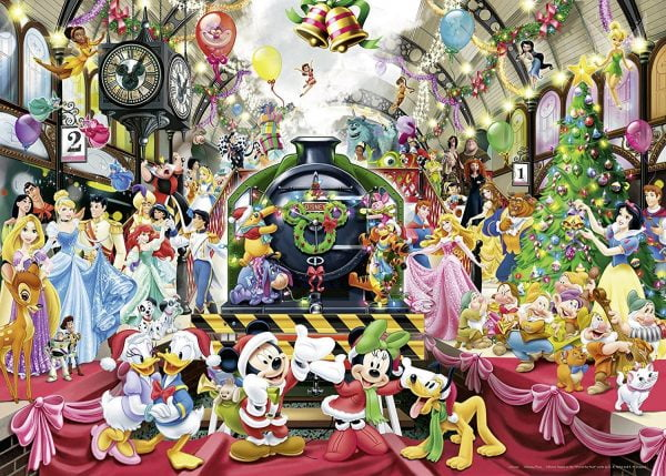 Disney - All Aboard for Christmas Puzzle - 1000 Piece