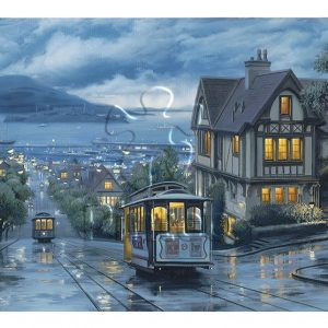 Evgeny Lushpin - Evening Journey 1000 Piece Puzzle