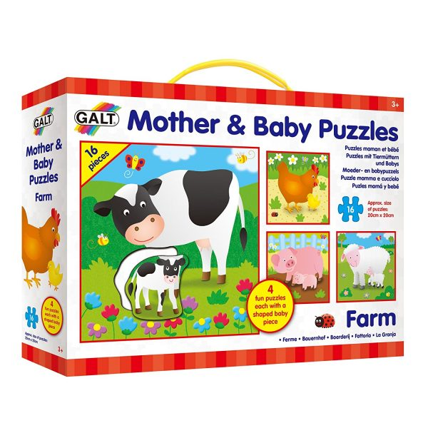 Galt – Mother & Baby Puzzles – Farm