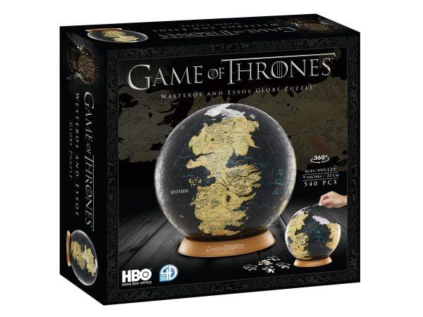 Game of Thrones 4D (22CM) 540 Piece Puzzle Globe