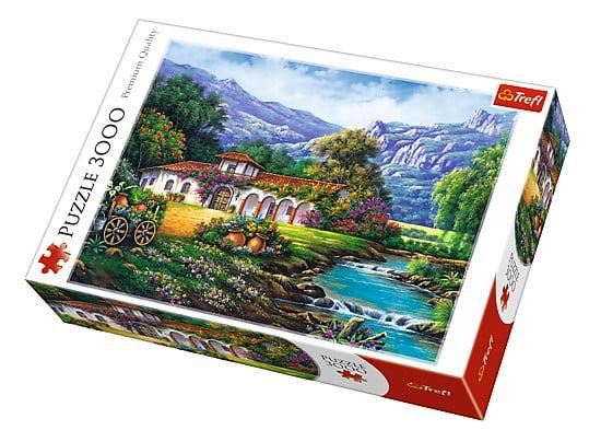 Hacienda by The Stream 3000 Piece Trefl Puzzle
