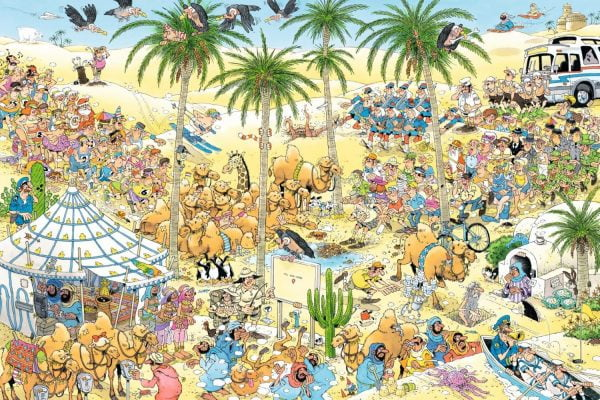 JVH The Oasis 1500 Piece Puzzle - Jumbo