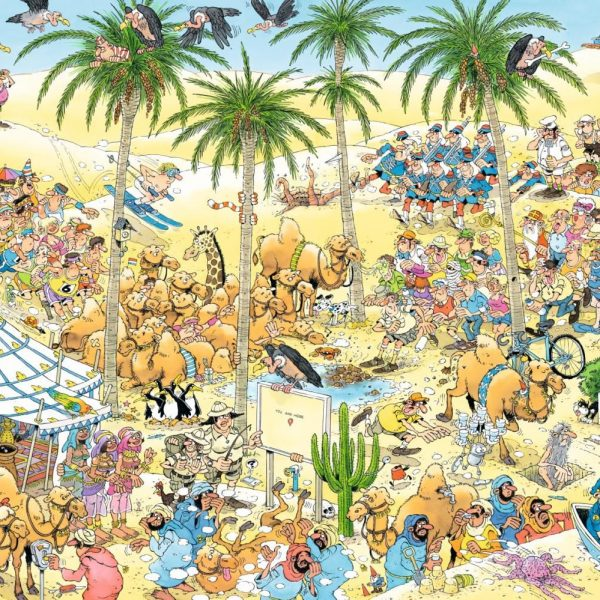 JVH The Oasis 1500 Piece Puzzle – Jumbo