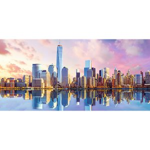Manhattan, New York Panorama 1000 Piece Trefl Puzzle