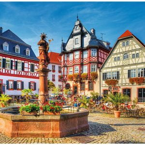 Market Square Germany 3000 Piece Jigsaw Puzzle