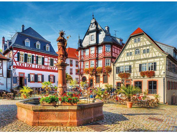 Market Square Germany 3000 Piece Jigsaw Puzzle
