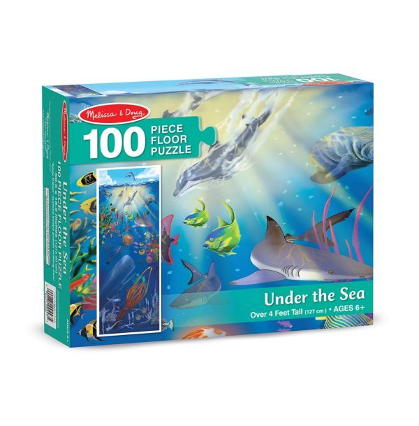 Melissa & Doug Under the Sea 100 Piece Floor Puzzle