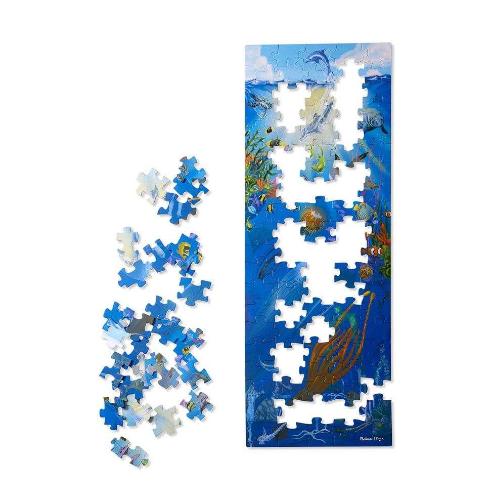 Melissa U0026 Doug Under The Sea 100 Piece Floor Puzzle