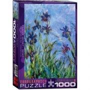 Monet, Irises 1000 Piece Eurographics Puzzle