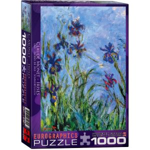Monet, Irises 1000 Piece Eurographics Puzzle