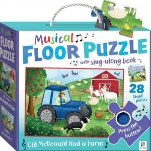 Musical Floor Puzzle - Old MacDonald had a Farm
