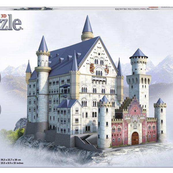 Neuschwanstein Castle 3D 216 Piece