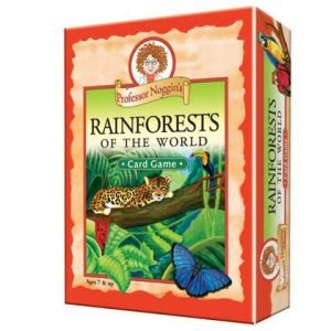 Proffesor Noggins - Rainforests of the World Card Game